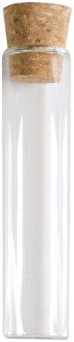 SANTEX 2968-0-10, Lot de 48 éprouvettes en verre transparent - 10 cm