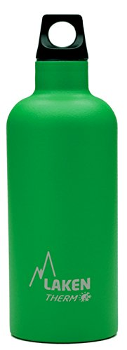 Laken futura thermo, borraccia, verde (green), 500 ml
