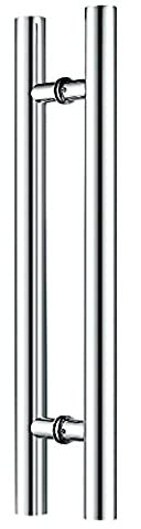 Canzak CAN-1004-3 Pull Push Door Handles, Interior or Exterior