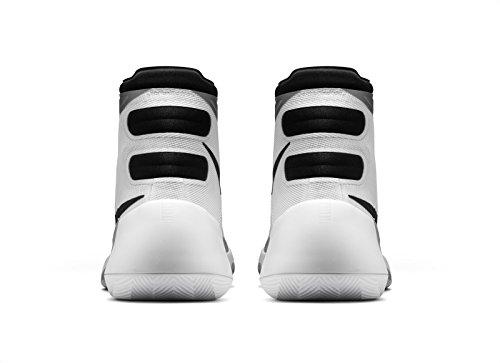 Nike Hyperdunk 2015, Chaussures De Sport, Blanc / Argent Hommes