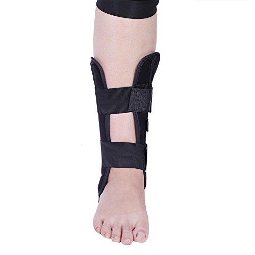 Kit di supporto per caviglia, supporto regolabile per l'ortesi del piede di ortesi traspirante antivibrazione regolabile per la distorsione e il recupero dell'artrite (M)
