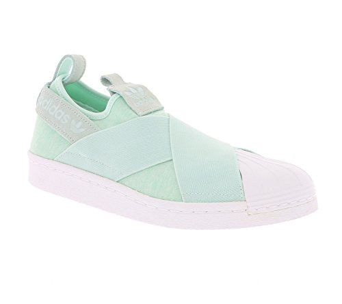 adidas Superstar Slip On W Scarpa Verde