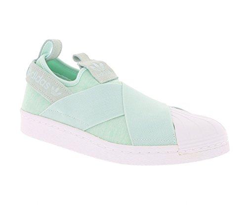 Adidas Superstar Slip On Damen Sneaker Grün Grün