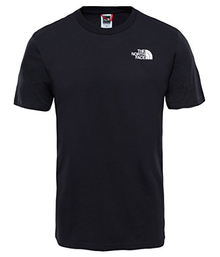 The North Face M SS tee Camiseta De Manga Corta Simple Dome, Hombre, TNF Negro, X/Large