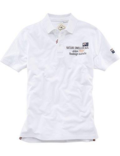 ROADSIGN australia Polo Shirt Nature Dweller Weiß
