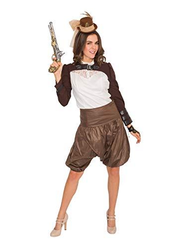 Steampunk Kostüm Damen Deiters - Deiters Jacke kurz Steampunk Damen braun