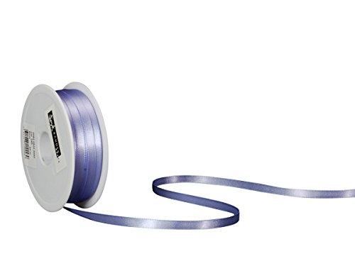 Spyk Bänder 2082.0622.0000-045 Nastro Doppio Raso per Regalo, 6 mm, 50 m, Iris