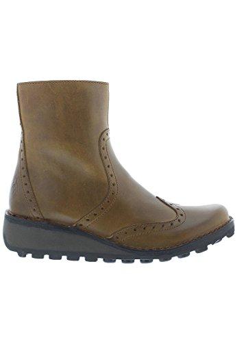 FLY London Damen Mani895fly Chelsea Boots Camel/Beige