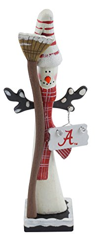 Hanna 's handiworks University of Alabama Schneemann Figur Striped Hat