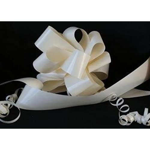 Wedding car decorations amazon wedding car kit 3 x 50mm cream assembled ready made not flat packed pull bows plus 1 x 6m of 2 cream florist ribbon the perfect item for wedding junglespirit Choice Image
