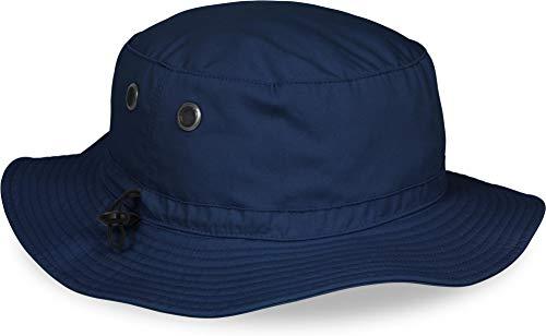 50 Damen Mütze (normani Outdoor Sommerhut mit UV Schutz 50 + Farbe Navy)