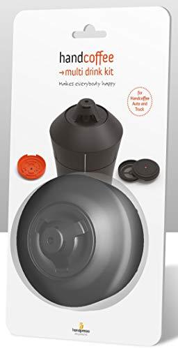 Handpresso 48274 Multi Drink Adapter-Set für die Handpresso Handcoffee Auto und Truck Espressomaschinen
