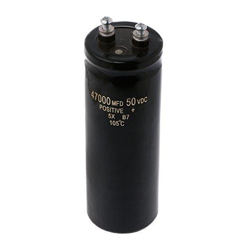 50V 47000UF/MFD Elektrolytkondensator mit Aluminiumschraube, 105 °C -