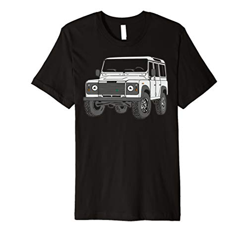4x4 Defender 110 Adventure Tshirt