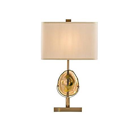 SDKIR-la vie moderne décorer agate lampe de table création de style européen amérique haut de gamme le fer lumières