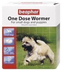 Beaphar Small Dogs & Puppies One Dose Wormer 3 Tablets