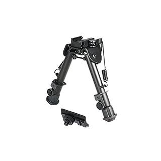 UTG Super Duty Tactical OP1 QD Bi-pod, Cent Ht:5.9'- 7.3', Leg Length:5.5'-7.4'