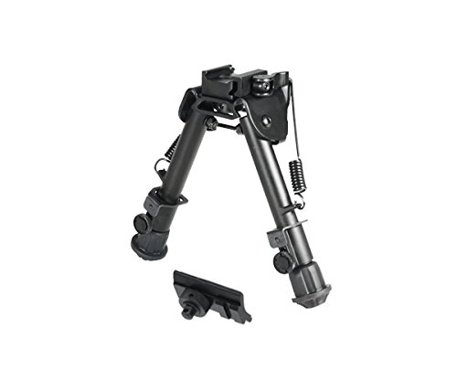 UTG Super Duty Tactical OP1 QD Bi-pod, Cent Ht:5.9'- 7.3', Leg Length:5.5'-7.4' (Ar15 Schienen)
