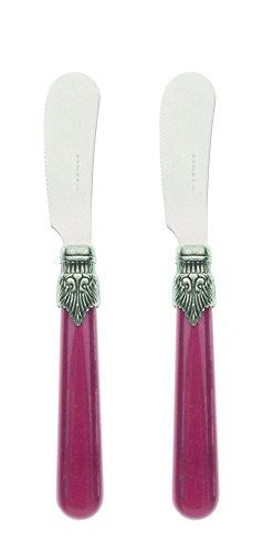 Vintage - Juego de 2 cuchillos de mantequilla (2,5 mm)
