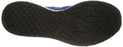 New Balance Men's Fresh Foam Zantev2 Game Running Shoe, Blue/Silver, 10 2E US Blue / Silver