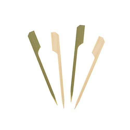 Royal Premium 3.5 BAMBOO PADDLE PICK Set of 100 by Royal Bamboo Paddle-pick