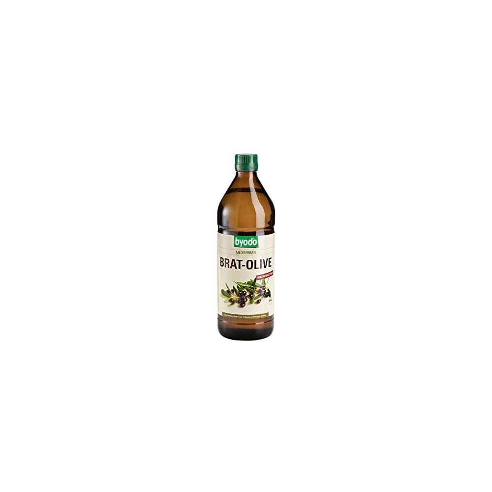 Byodo Brat Olive Mediterran Bio L 1er Pack 1 X 750 Ml