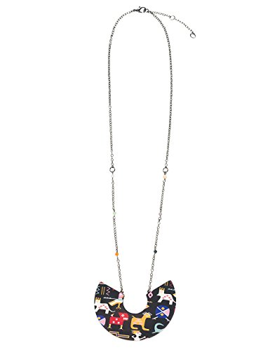 Desigual Damen-Kragen Halskette Edelstahl 18WAGO552000U