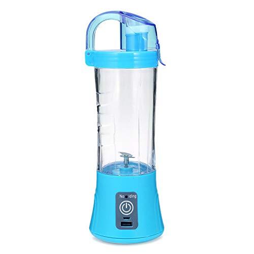 Gakoz Elektrischer Entsafter Cup Portable Blender Juice Mixer wiederaufladbar für Obst und Gemüse - Mixer-cup Power