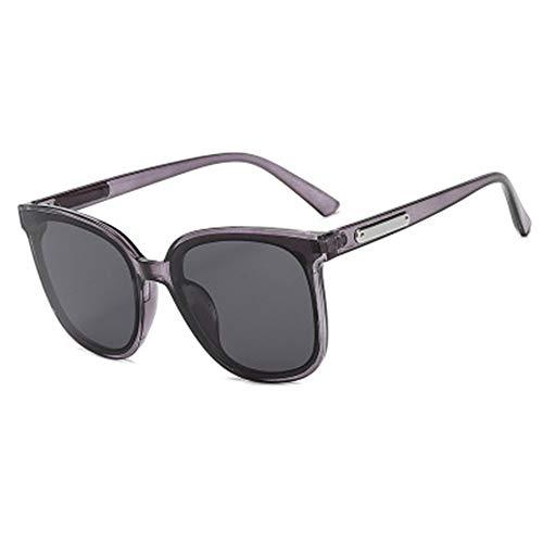 hw Klassische Sonnenbrille im Retro-Stil mit UV400-Schutz für Männer und Frauen grey1