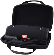 Hart Taschen Hülle für JBL Xtreme /Xtreme2 Tragbarer Bluetooth Lautsprecher von Aenllosi (Schwarz)