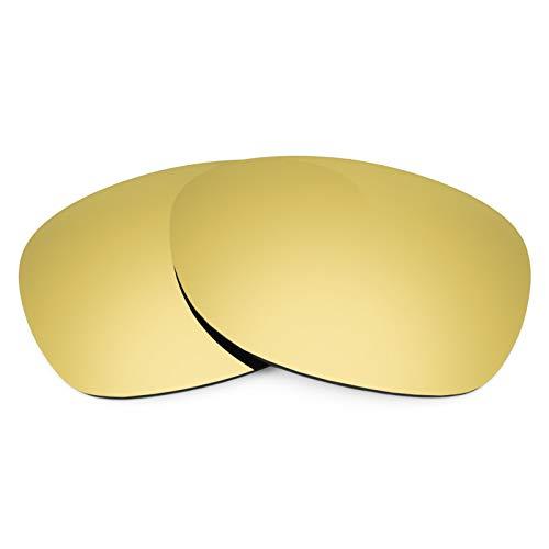 Revant Ersatzlinsen für Ray-Ban New Wayfarer 52mm RB2132 Polarisierung Elite Gold MirrorShield®
