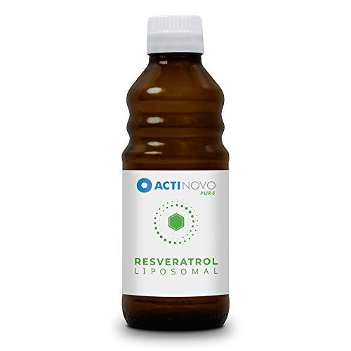 Liposomales Resveratrol | hochdosiertes Polyphenol | Pflanzliche Antioxidation | 250 ml | Tagesdosis 200 mg Resveratrol | hohe Bioverfügbarkeit | flüssig | ohne Zusätze | vegan