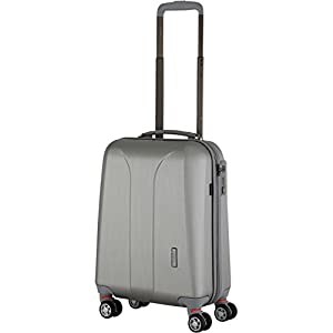 march New Carat 4-Rad Kabinentrolley 55cm silber