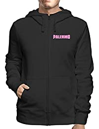 Puma Felpa da training US Palermo, con 12 zip, tessuto