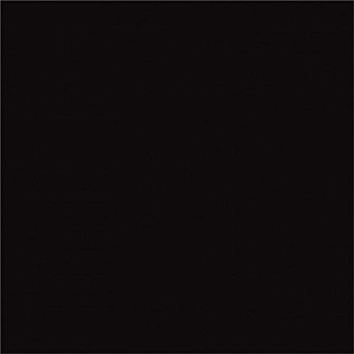 Preisvergleich Produktbild Vinylfolie Selbstklebend glänzend 3m x 30cm, Farbe:01L Schwarz