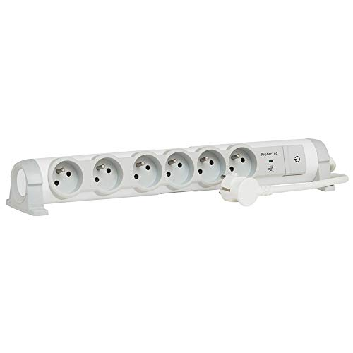 Legrand Steckdosenleiste Komfort, weiß, 050097 3500 wattsW, 230 voltsV