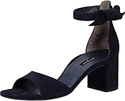Paul Green 7073 Damen Sandalen Blau, EU 39