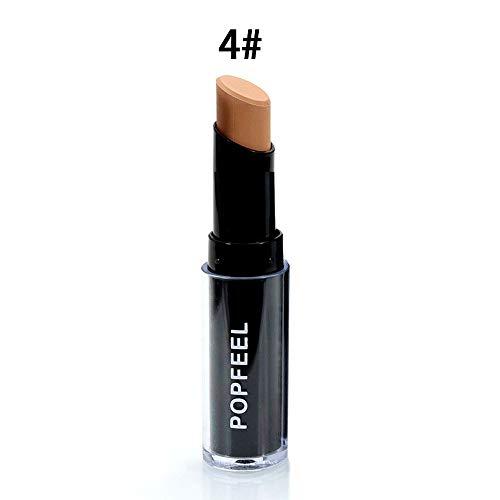CHOULI POPFEEL Full Cover Foundation Freckle Acne Concealer Pen Face Makup 4#