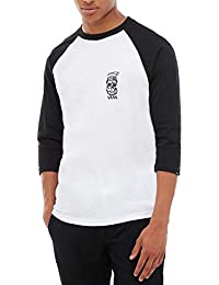 0d2345d68daf9 Vans Moonshine Raglan Camiseta Manga Larga Hombre Blanco