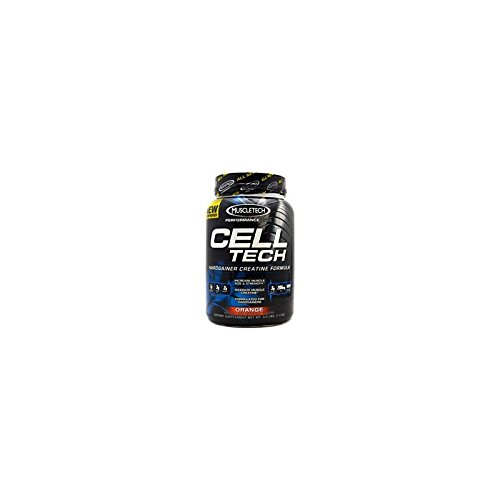 MuscleTech Cell Tech Performance Series Hardgainer Kreatin Formel, 1400g, Geschmack:Fruit Punch -