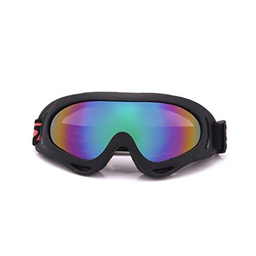 sunshineBoby Polarisierte Sportbrille Sonnenbrille Fahrradbrille mit UV400 Schutz für Damen & Herren Autofahren Laufen Radfahren Angeln Golf (Mehrfarbig A)