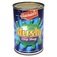 Bisto Chip (Batchelors Matschig Chips-Laden Marrowfat Verarbeitet Erbsen (300 G))