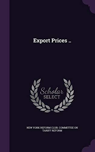 Export Prices ..