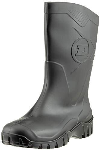Dunlop Protective Footwear Unisex-Erwachsene Dunlop Dee Calf Arbeitsgummistiefel, Schwarz, 41 EU | 7 UK