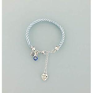 Blaue Armband mit griechischen Auge Anhänger, Schmuck, Armband, Glücksbringer, Juwel, Armbänder, griechische Auge Juwel, Schmuck Geschenke, Frau Armband