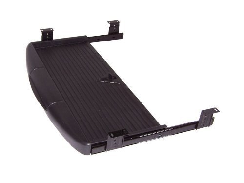 SO-TECH® Tastaturauszug Tastaturablage Tastaturschublade schwarz PC Tastatur Auszug