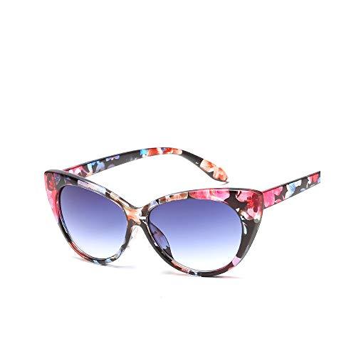 WJFDSGYG Cat Eye Sonnenbrille Damen Designer Schwarze Sonnenbrille Lady Girls