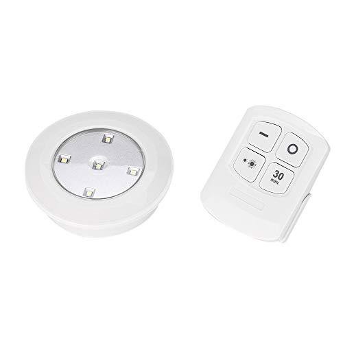 ahtlosen Fernbedienung Lampe Schranklicht für Flur Innenbereich Küche Bad Diele Esszimmer Weiß (0.3W 30 LM) ()