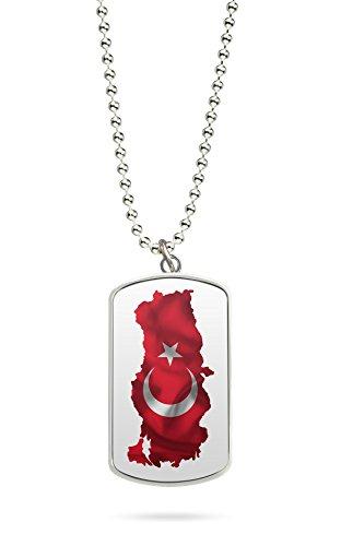 Kette Dog Tag Anhänger Türkiye Türkei