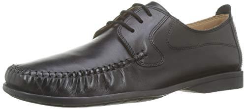 BATA 8546119, Zapatos Cordones Derby Hombre, Negro